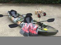 double sea river kayak