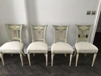 Set of Four 19th Century French Chairs - Newly Restored