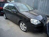 Volkswagen POLO S 2005 Hatchback 1.2 Petrol Manual 3 door black 12 Months MOT FULL Service History