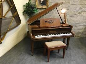1920 Gerhard Adam Baby Grand Piano & Stool - CAN DELIVER