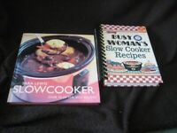 two slow cooker recipe books