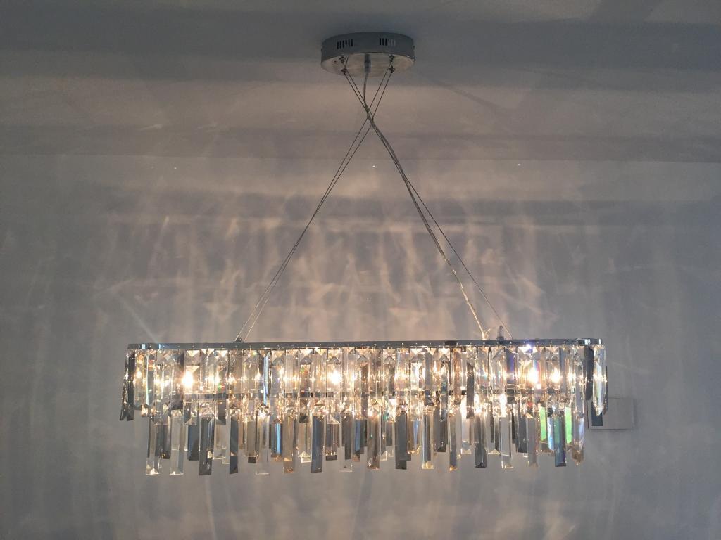 Light Linear Bar Pendant Chandelier