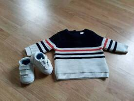 Baby boys clothes £5 per picture exc cond mainly worn once next