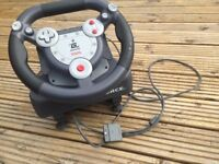 Playstation 1 steering wheel good condition