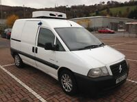 No Vat Citroen dispatch 2.0hdi fridge, chiller van with overnight standby