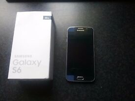 SAMSUNG S6 SAPPHIRE BLACK FOR SALE