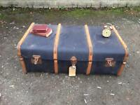 LOVELY Vintage TRUNK FREE DELIVERY STORAGE BOX