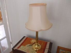 Lovely M&S brass lamp very good condition