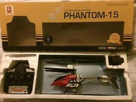 Remote control helicopter excellent condition great fun.