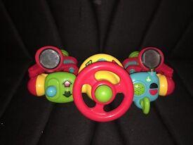 Pram/stroller musical toy
