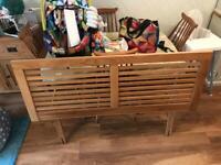 Headboard double bed solid oak John Lewis for sale  Tavistock, Devon