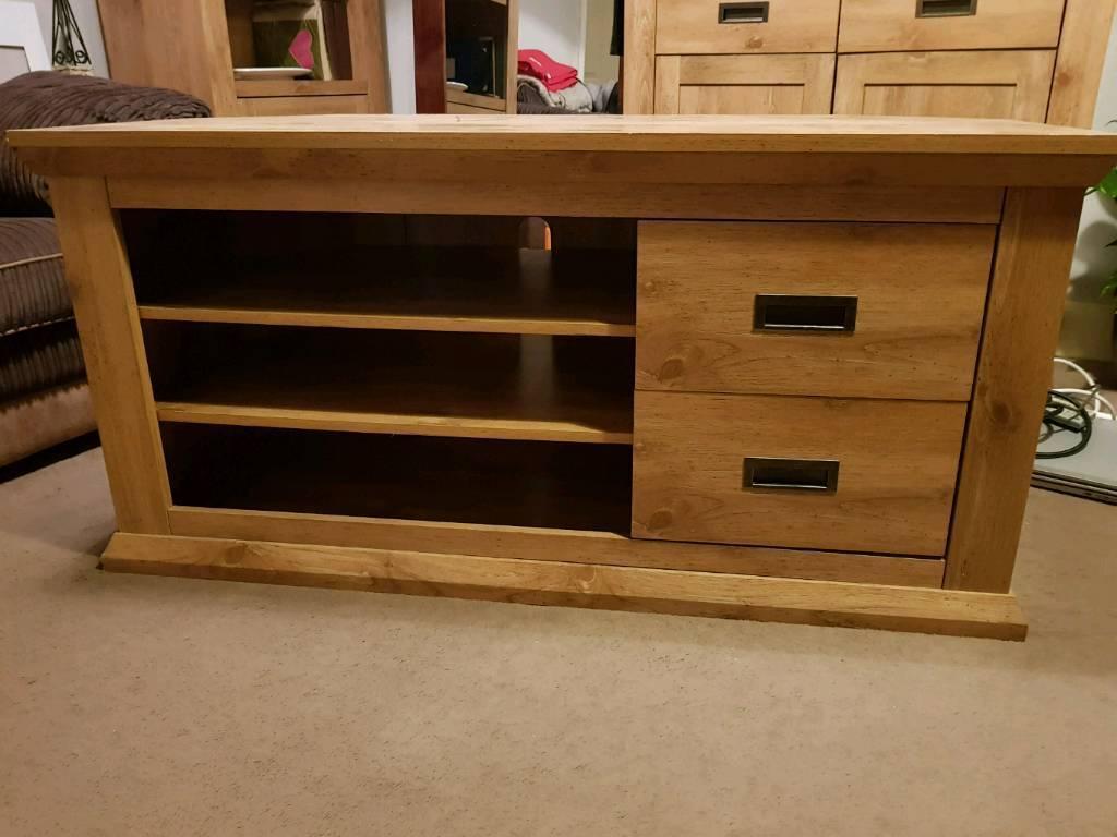 oak effect living room furniture from next  in allerton
