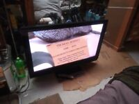 """for sale panasonic 46"""" plasma hd tv with freeview £70"""
