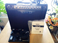 6 SPIDER JAM GUITAR AMPLIFIER IN FULL WORKING ORDER WITH PEDAL