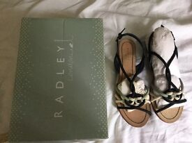 Radley London summer sandals , new, never worn