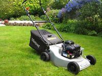 Masport petrol push lawn mower, 46 cm cut width