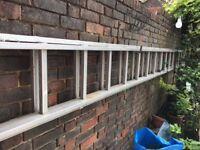 Heavy Duty Youngmans extending aluminium ladder