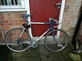 Raleigh road bike