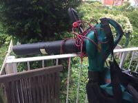 Bosch leaf blower/vacuum for garden