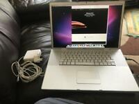 """Apple MacBook Pro 17"""" 2007 or 2008"""