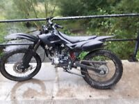 Shinray gy 125 road legal/pitbike