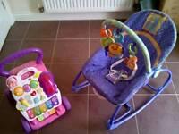 Baby rocker seat