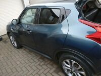 2013 Nissan Juke 1.6 TEKNA 5d DCI Diesel blue/black Manual - full alloy refurb'''''''''