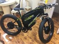 Electric Bike Powerful And Fast 1000Wt With 2 Motors Front & Back ( 2 Wheels Drive)