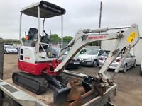 Mini Digger and Dumper Hire with Driver