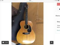 GUITAR SCAMMER BACK AGAIN !!!!! ( trying to sell a Martin acoustic that just sold in Texas )
