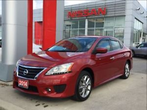 2014 Nissan Sentra SR, Push Start, Bluetooth, Rear Spoiler