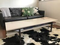 Coffee Table - IKEA Rissna with clever storage