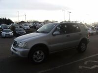 2005 MERCEDES-BENZ M CLASS 3.7 ML350 5D AUTO 245 BHP **** GUARANTEED FINANCE **** PART EX WELCOME