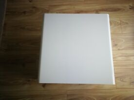 Used White Gloss side table