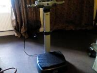 Carl lewis vibration fitness machine
