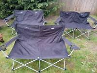 EUROHIKE CAMPING OUBLE CHAIR