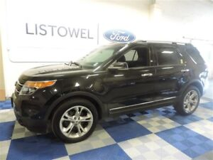 2013 Ford Explorer Limited 4D Utility V6 4WD Dual Panel Moonroof