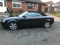 Audi A4 convertable cabroilet, excellent condition one owner, low milage