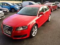 AUDI A3 1.9 TDI SPORT, 2009, TWO TONE INTERIOR, NEW 18 INCH ALLOYS **FINANCE FROM £35 PER WEEK**