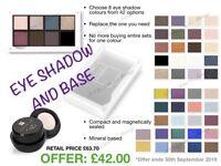 FM Eye shadow and eye shadow base/primer