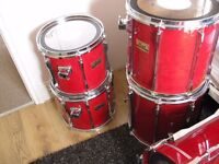 Pearl BLX professional all birch shell double bass drum kit