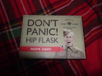 brand new dads army hip flask £5