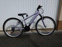 """Girls 26"""" wheel Apollo Jewell bicycle"""