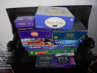 Selection of board games (10)