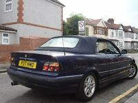 /// BMW 318 CONVERTIBLE/CABRIOLET /// LEATHERS /// CHEAPPP /