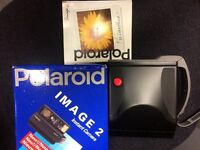 Polaroid Image 2 Instant Camera with cassette and some film