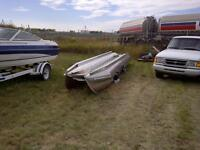 BRAND NEW ALUMINUM PONTOONS! - PRICED TO SELL