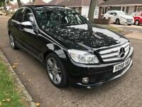 MERCEDES C220 2.1 CDI AUTO AMG SPORT 2009 REGISTERED INCLUDING PANROOF AND MORE EXTRAS GREAT RUNNER