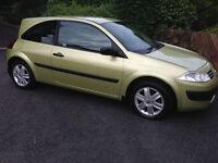 2004 Renault Megane 1.5 dci £30 per year road tax