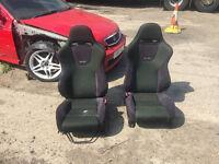 Honda Accord type r recaro bucket seats ek4 ej9 Vti eg ch1 civic